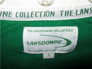 Lansdowne Ireland Irish Shamrock Rugby Football Shirt Irish Flag