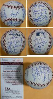 1980 Philadelphia Phillies Team Autographed Signed Baseball w 25