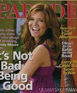 MOORE parade magazine LARRY HE CABLE GUY april 2007 Free Shipping