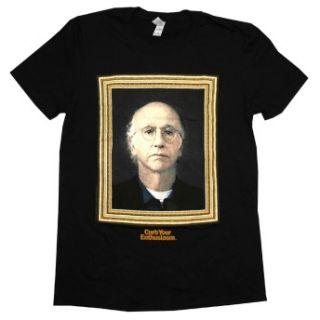 Curb Your Enthusiasm Larry David Portrait TV Show Adult T Shirt Tee