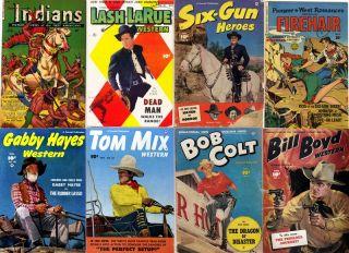 Golden Age DVD Cowboy Western Comics Fawcett FIC HSE Monte Hale Gabby