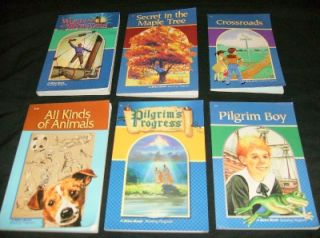 2ND 3RD grade READING BOOK LOT abeka homeschool Language Arts readers