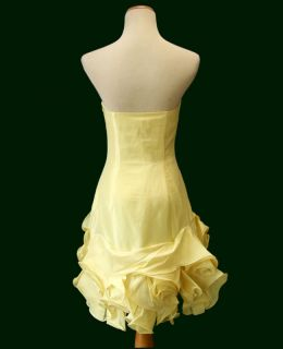 LARA DESIGN 2951 Yellow $300 Prom Evening Cocktail Dress NWT  Avail