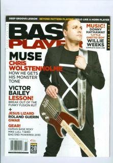 2009 Bass Player Magazine Chris Wolstenholme, Victor Bailey, Roland