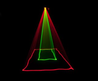 Chauvet Scorpion RGY Laser Light Effect Red Green Yellow Free 2 Bag