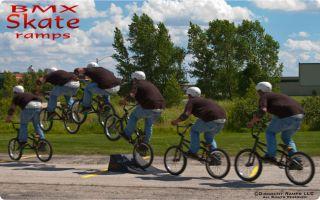 Skateboard Skate Board Nitro RC Car Trick Launch Ramp SK 904 R
