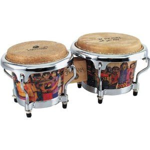 Latin Percussion Santana Mini Tunable Bongos
