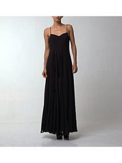 Religion Olsen solid maxi dress Jet Black
