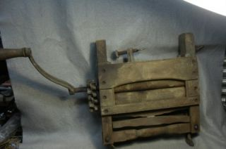 Antique Portable Clothes Wringer