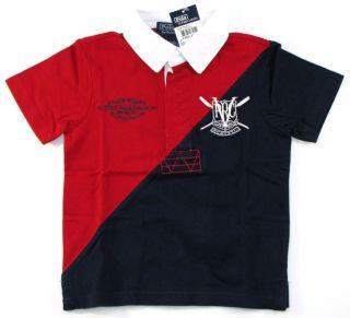 Polo Ralph Lauren Boys Bleeker Rugby Shirt 12 Mos