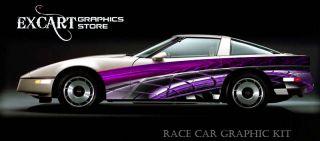 Race Car Graphics Vinyl Decal IMCA Late Model scca 2012
