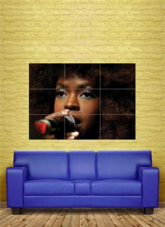 Lauryn Hill Hip Hop Music Custom Art Work Giant Poster Print 89 x 125