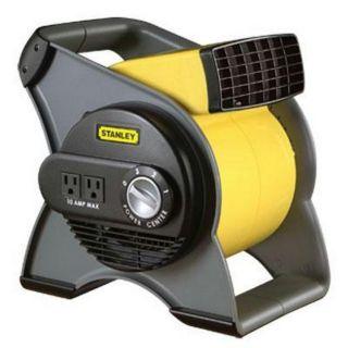 Lasko Products 655704 Stanley Pivoting Utility Fan Three Speeds