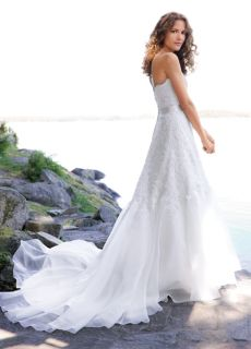 Organza A Line Wedding Dress Belter Tess Lea Ann
