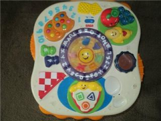 Fisher Price Laugh Learn Activity Table Lights Up Plays Music
