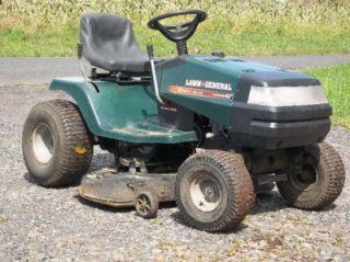 craftsman ii 12 hp briggs 38 inch cut riding mower lawn tractor rh popscreen com Lawn General Riding Mower Parts Lawn General Riding Mower Manual Diagram 38713X71a