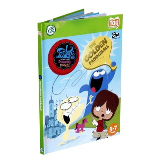 Leap Frog Tag Storybook Cartoon Network Fosters The Golden Paddleball