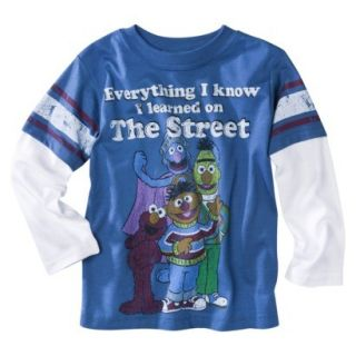 Sesame Street Everything I Know I Learned on The Street Long Sleeve