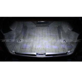 White LED Trunk Cargo Light Bulb 12 SMD Panel Xenon HID Interior Lamp