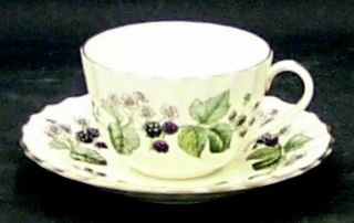 Royal Worcester Lavinia Cream Bone Cup Saucer