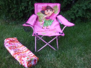 The Explorer Mini Camp Folding Lawn Chair with Cup Holder New