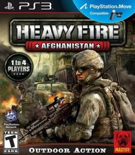 Heavy Fire Afghanistan Move Compatible War Combat Mountain Warfare PS3