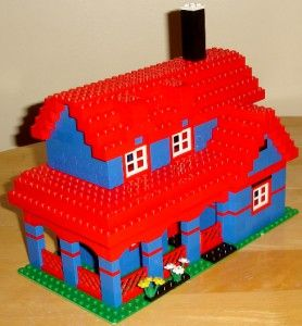 Lego 4956 Big Custom Lego House Number 2 Built from 4956 Creator Idea