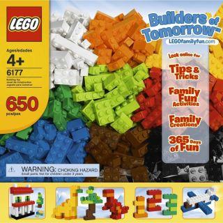 The Lego Ideas Book Hardcover 650 Lego Bricks Builders of Tomorrow Set