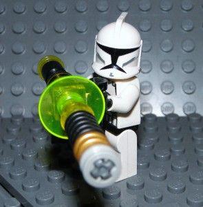 LEGO   STAR WARS   CLONE WARS   CUSTOM   CHAIN GUN   SWCG 20   6 EACH