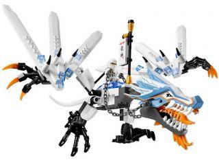 NEW Lego NINJAGO Set 2260 ICE DRAGON ATTACK Ninja ZANE Skeleton Krazy