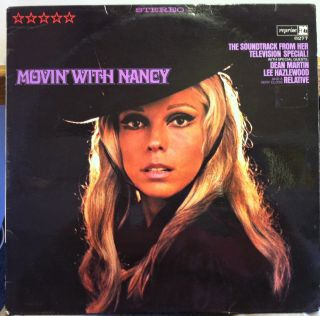 Nancy Sinatra Movin with LP VG RS 6277 German 1st Press Stereo 1968