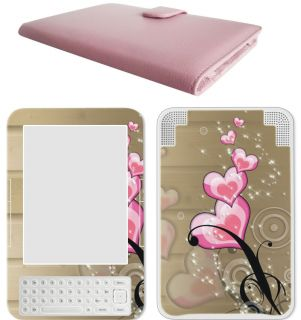 eBook Kindle 3 Leather Case Cover Jacket Skin