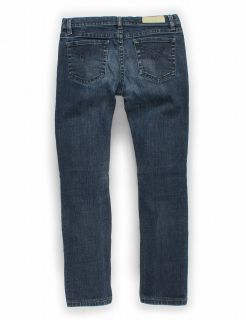 Lacoste Original Medium Blue Straight Leg Jeans