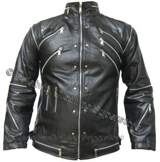 /MJ Pics/mj leather jackets/MJ leather black beat it jacket