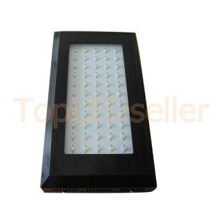 Dimmable LED Aquarium Light 120W Coral Reef Tank White Blue Grow Light