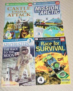 Lego Books Arctic Mission Castle Attack Race Survival