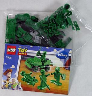 Lego Toy Story 7595 Army Men on Patrol 90 Pieces New 4 Minifigs