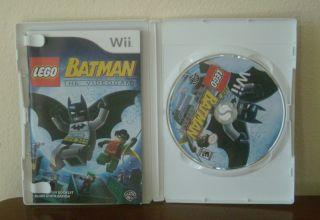Lego Batman The Video Game Nintendo Wii 2008