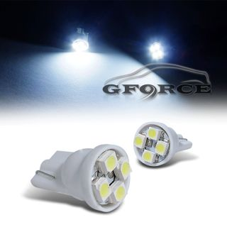 2pc T10 194 White LED SMDX4 Light Bulbs Celica Camry MR2