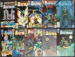 COMICS #678 688 BATMAN ROBIN NIGHTWING ZERO HOUR PRODIGAL DIXON NOLAN