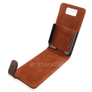 New Genuine Leather Case Cover for HTC HD2 T8585 Leo F