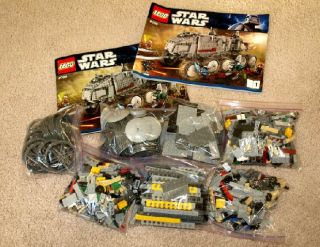 Lego Star Wars Set Clone Turbo Tank 8098 Complete with Minifigs 1141