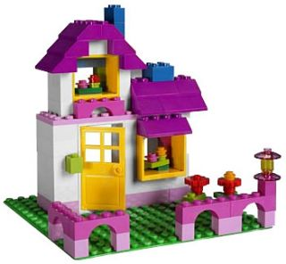 Lego Bricks Buckers Lego® Large Pink Brick Box 5560