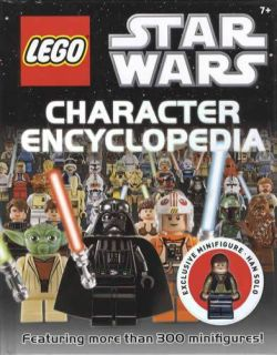2011 Lego Star Wars Character Encyclopedia Collector ID Guide