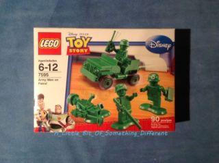 Lego Star Wars Set 7595 Toy Story Army Men on Patrol SEALED