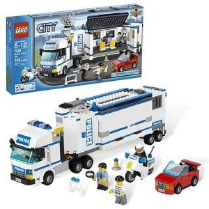 NEW LEGO City Mobile Police Unit # 7288 Building Set Toy Legos Truck