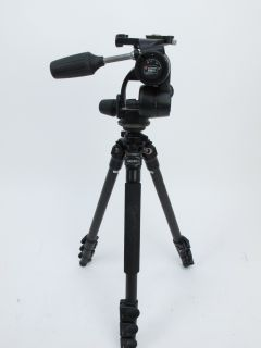 058EX Mg Carbon Fiber Tripod with Manfrotto 808Rc4 3 Way Pan/Tilt Head