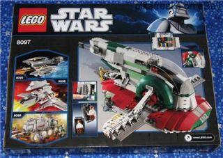 8097 Lego Star Wars Classic Boba Fetts Slave I New 2010 Play Set 573