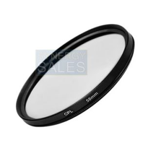 UV CPL Filter Kit + Accessory Lens Hood & Cap for Canon PowerShot SX50