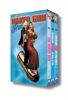 The Naked Gun DVD Gift Set Leslie Nielsen The Complete Naked Gun Film